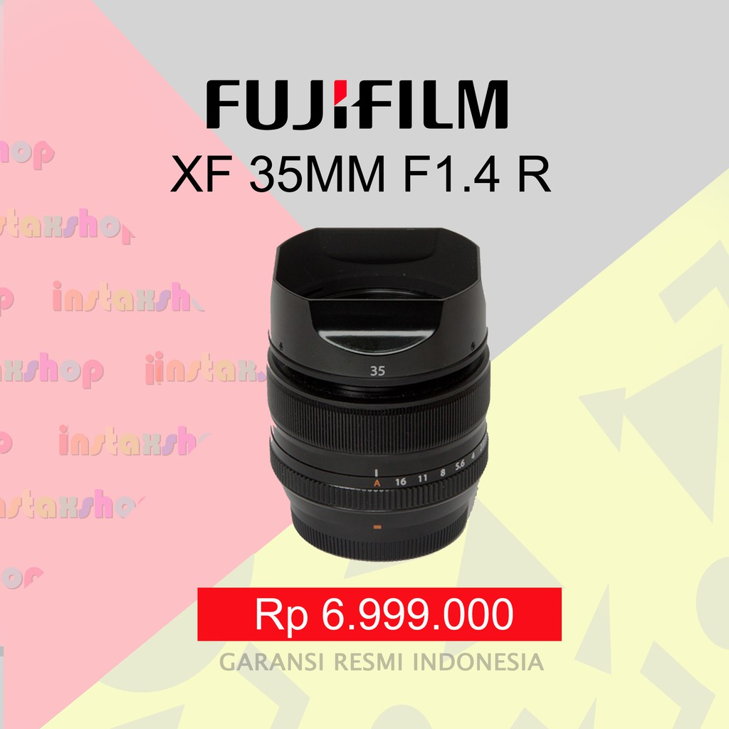 Fujifilm Fujinon Lensa Xf 27mm F28 Hitam Silver Shopee Indonesia Instax Mini 8 Garansi Resmi