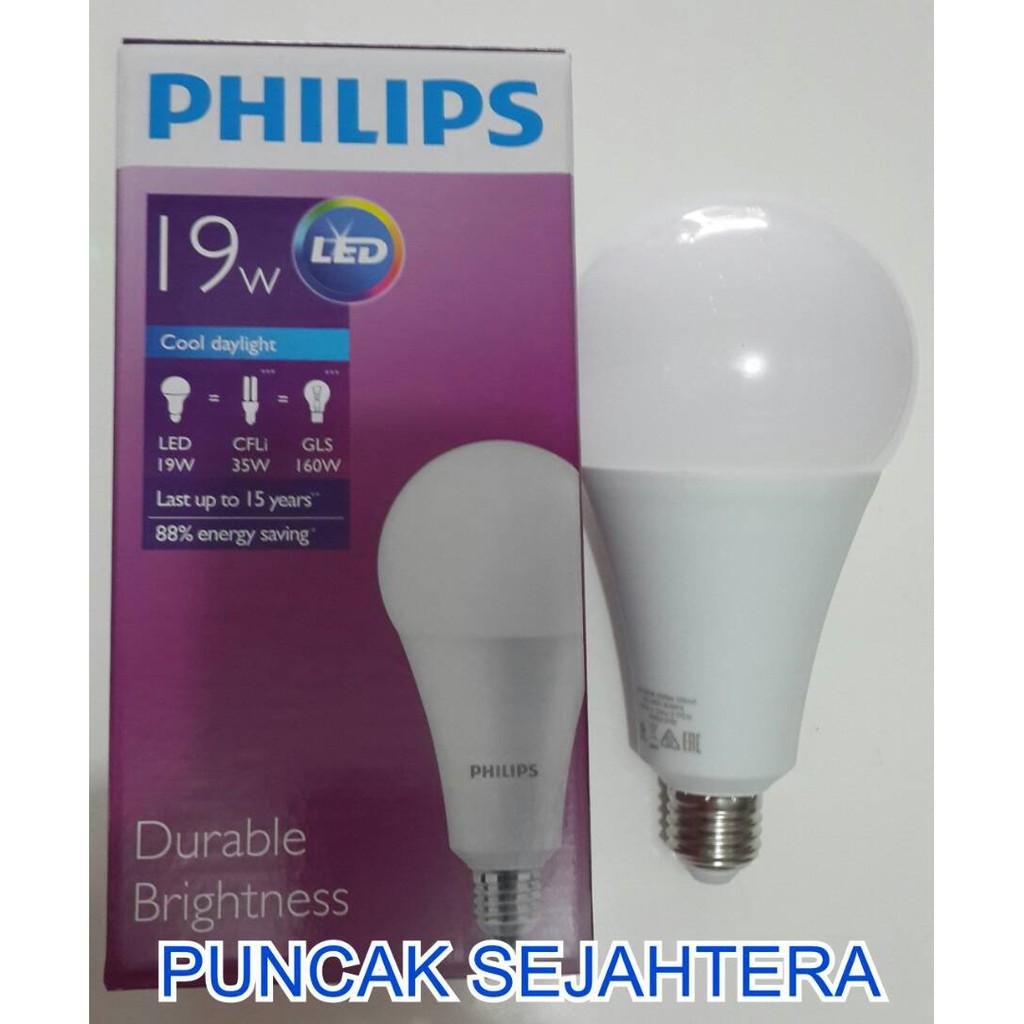 Bundling Paket Isi 4 Lampu Led Philips 105 Watt Bohlam 10 W Philip 13 Bulb 10w Shopee Indonesia