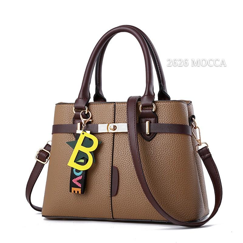 GM 2626 - TAS IMPORT - TAS BATAM - HANDBAG B LOVE- Fashion wanita   Selempang Wanita- Bonus Gantungan  a0cd8ef7dc