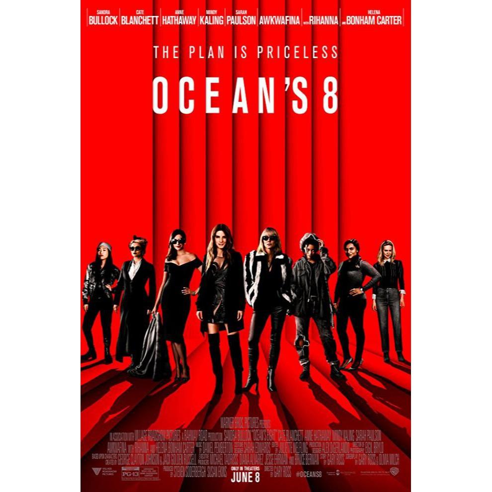 Super Dvd Ocean S Eight 2018 Sale Shopee Indonesia