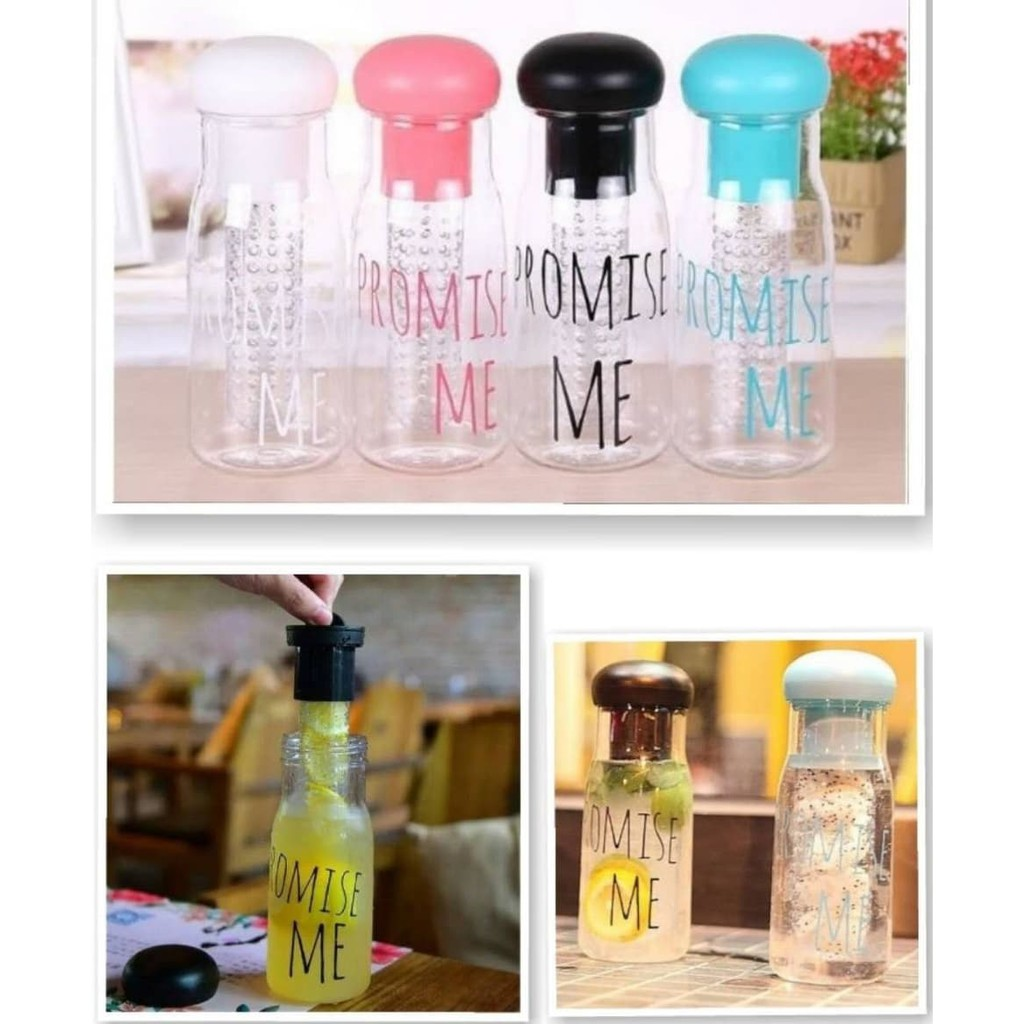 Medan Promise Me Bottle With Pouch -[Warna Pouch Sesuai Warna Tutup Botol] | Shopee Indonesia