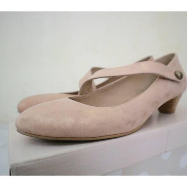 Sepatu Be Bob Chunky Heels Shopee Indonesia