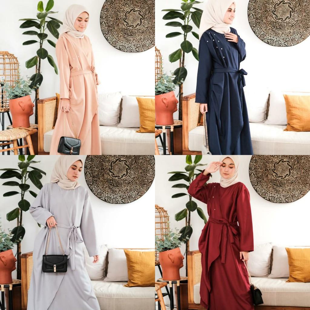 Bisa COD YUANITA DRESS – Gamis terbaru Dress murah Pakaian wanita Baju muslim Ootd