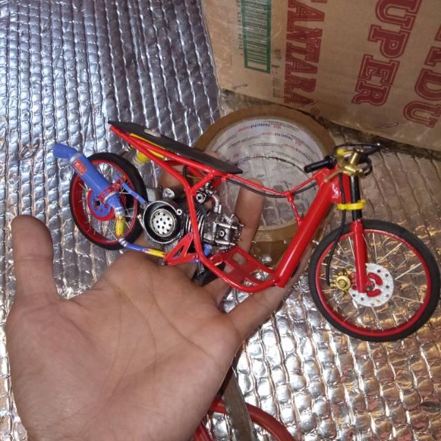 Miniatur Drag Mio Handmade Shopee Indonesia