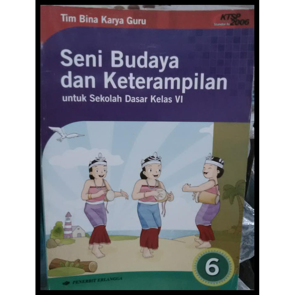 Buku Seni Budaya Dan Keterampilan Sd Kls Kelas 6 Sbk Sd Shopee Indonesia