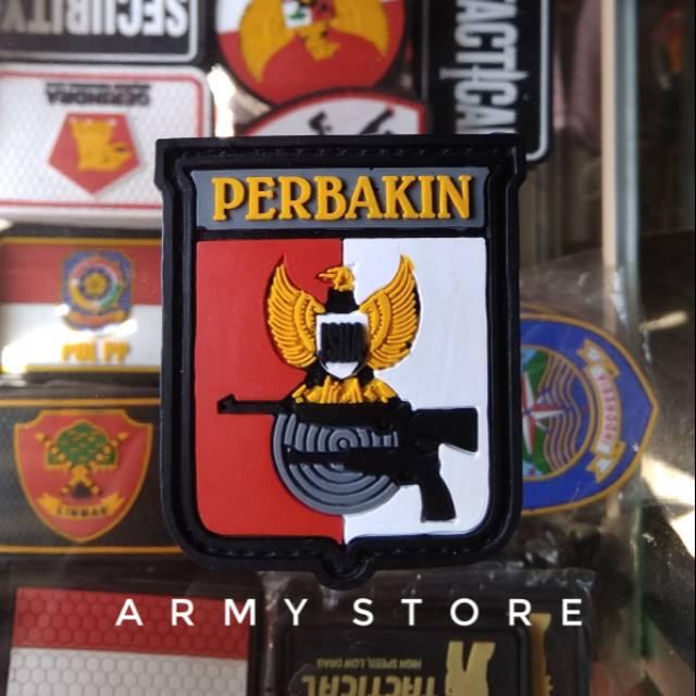 Patch Rubber Logo Perbakin Shopee Indonesia