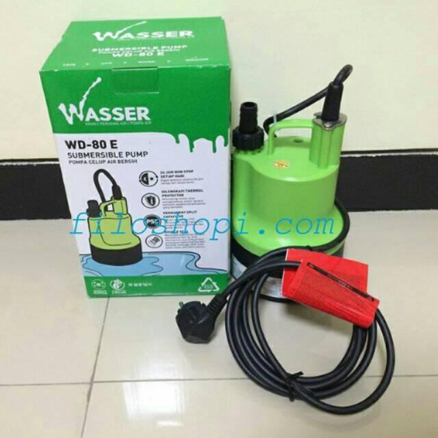 Wasser Pompa Celup Air Bersih Submersible Pump (WD-80E) | Shopee Indonesia