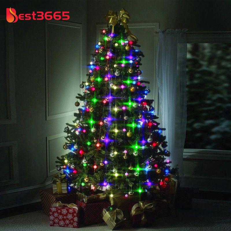 Hanging Star Christmas Tree Lights Led Lighting Christmas Tree Decor Beid Shopee Indonesia