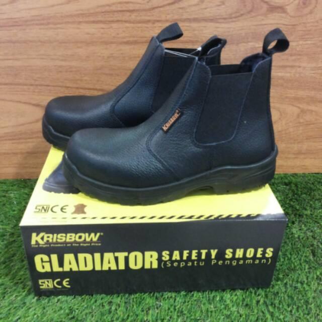 24a86675e11 SAFETY SHOES KRISBOW TYPE GLADIATOR sepatu pengaman Krisbow tipe Gladiator