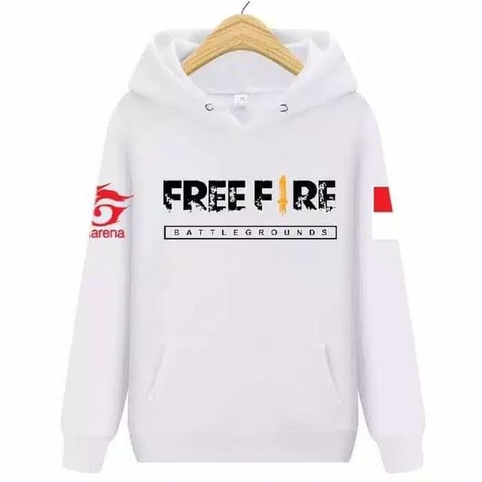 Sweater Distro M L Logo Cowok Anime Premium Cewek Murah Jaket Keren Ff Game Shopee Indonesia