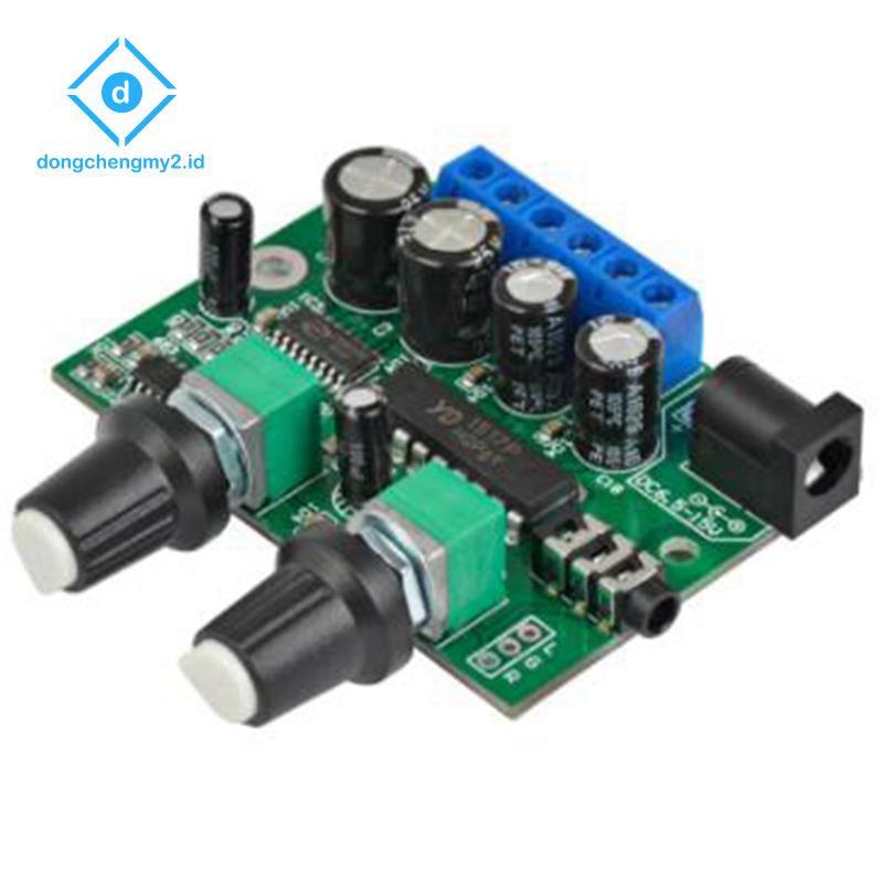 2.1 Subwoofer Amplifier Audio Board 6Wx2+25W Mini Bass Amplifier