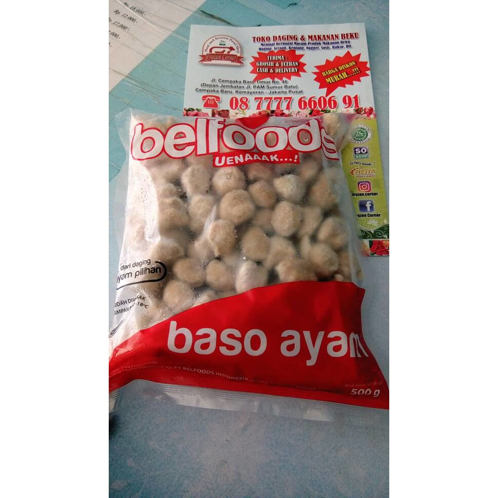 Bakso Ayam Murah Enak Mabell Rasa Original Kemasan 400gr Isi 50 40 Sosis 1kg Champ Sumber Frozen Makmur Pcs Shopee Indonesia