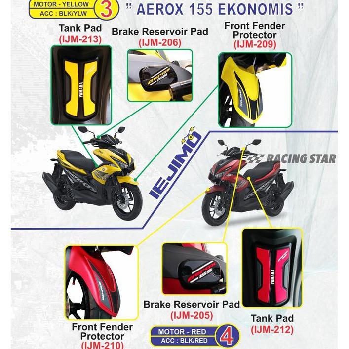 FRONT FENDER AEROX 155 - SPAKEBOR DEPAN AEROX 155 - YAMAHA AEROX 155 | Shopee Indonesia