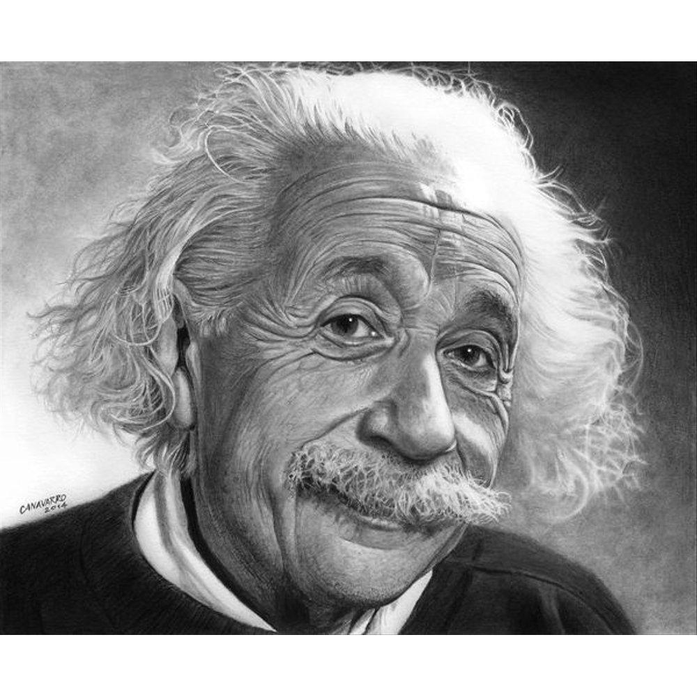 Lukisan Kanvas Albert Einstein Koleksi
