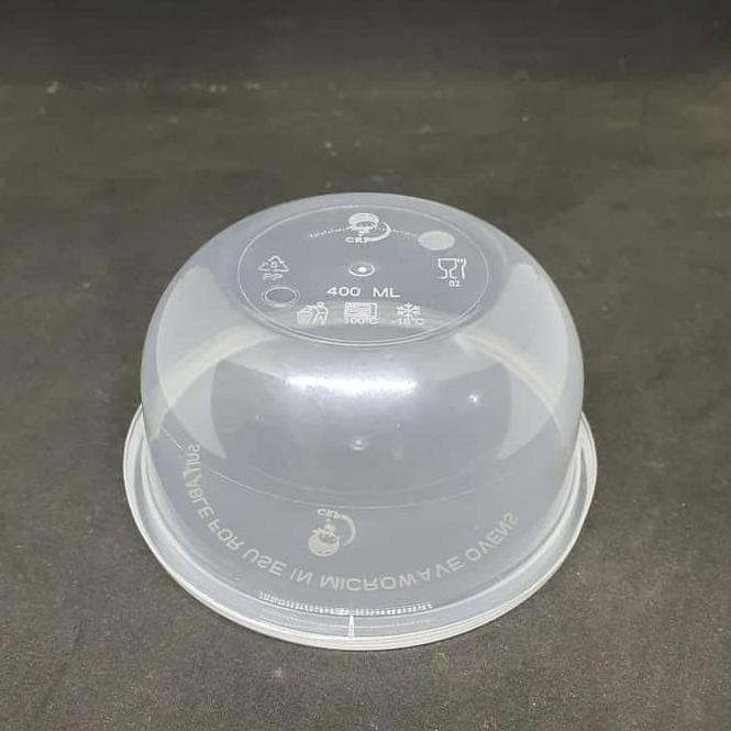 [ART. 61871] Thinwall Bulat Round 400 ml Food container plastik isi 25