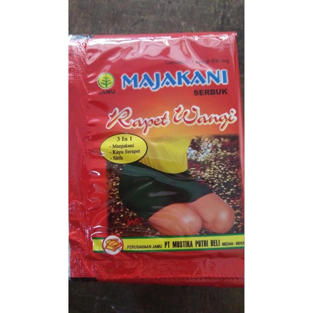 💎 Jamu Herbal Majakani Rapet Wangi Serbuk Kotak 10 Sachet Original   Shopee Indonesia