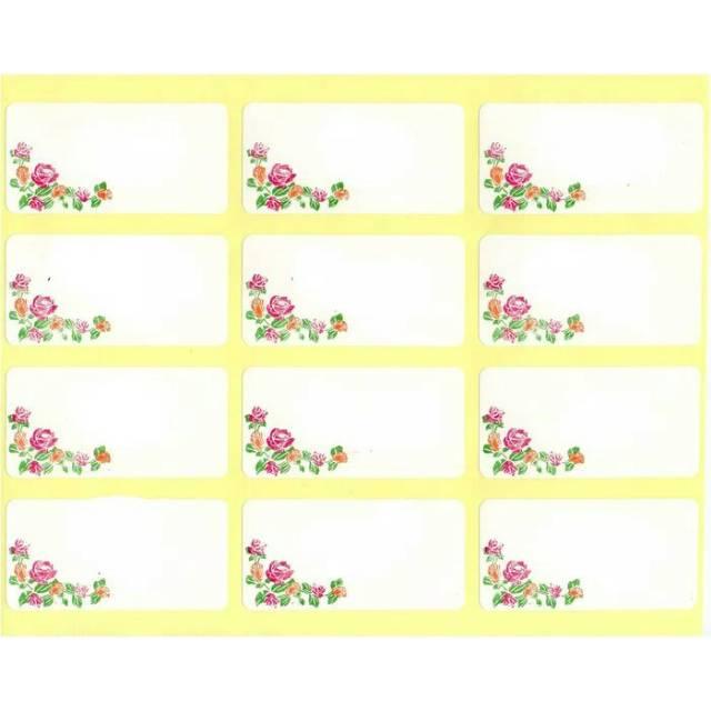 label stiker undangan ornamen bunga bisa dicetak nama tamu undangan shopee indonesia label stiker undangan ornamen bunga bisa dicetak nama tamu undangan