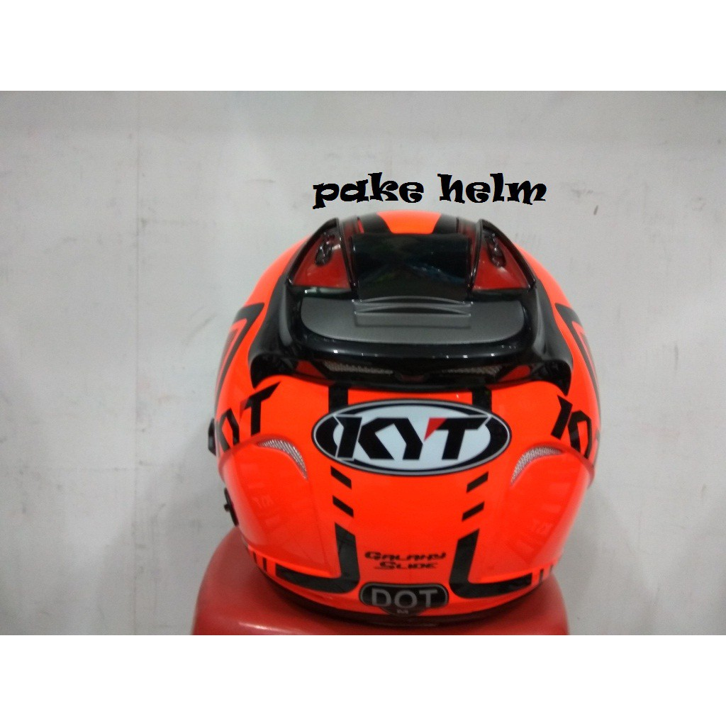 HELM GM SUPER CROSS MOTIF NEUTRON WHITE RED FULL FACE CROS | Shopee Indonesia