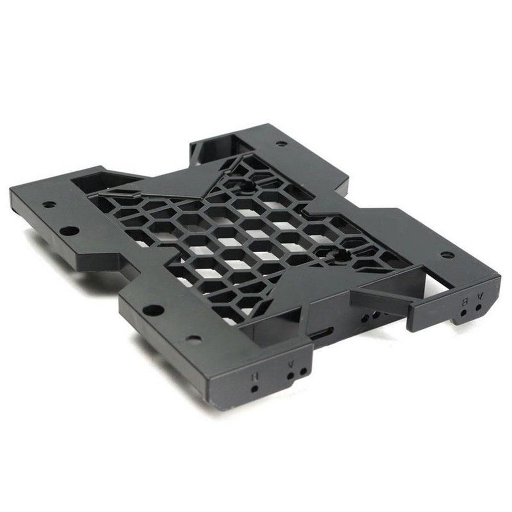 "5.25/"" to 2.5/'/' 3.5/'/' SSD Hard Drive Bay PC Fan Monting Bracket Base Crew Black"