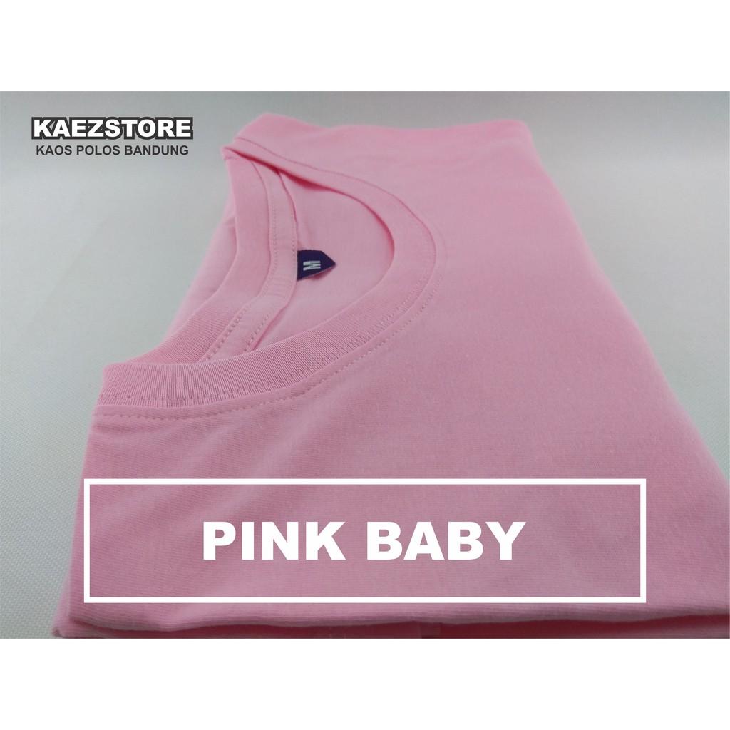 Baju Kaos Polos Oblong Bandung Coklat Muda MILO MISTY cewek cowok   Shopee Indonesia