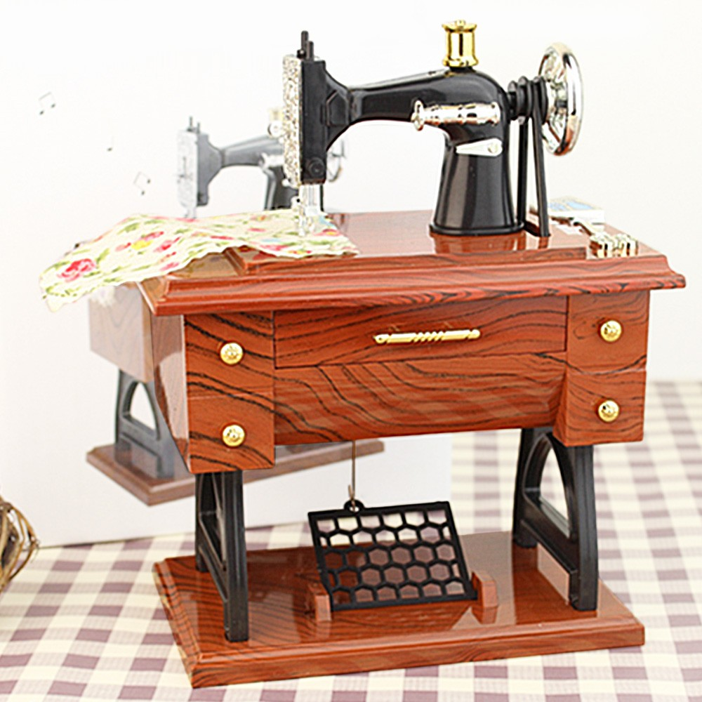 Kotak Musik Mesin Jahit Sewing Machine Music Box Update Harga Pianika Sj0038