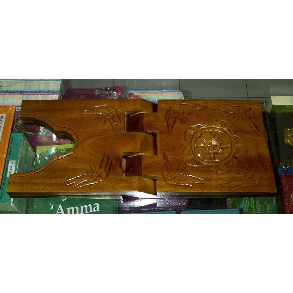 Mari Baca Rekal Al Quran ukuran lebar 15cm Tatakan dudukan Alquran Murah Lo