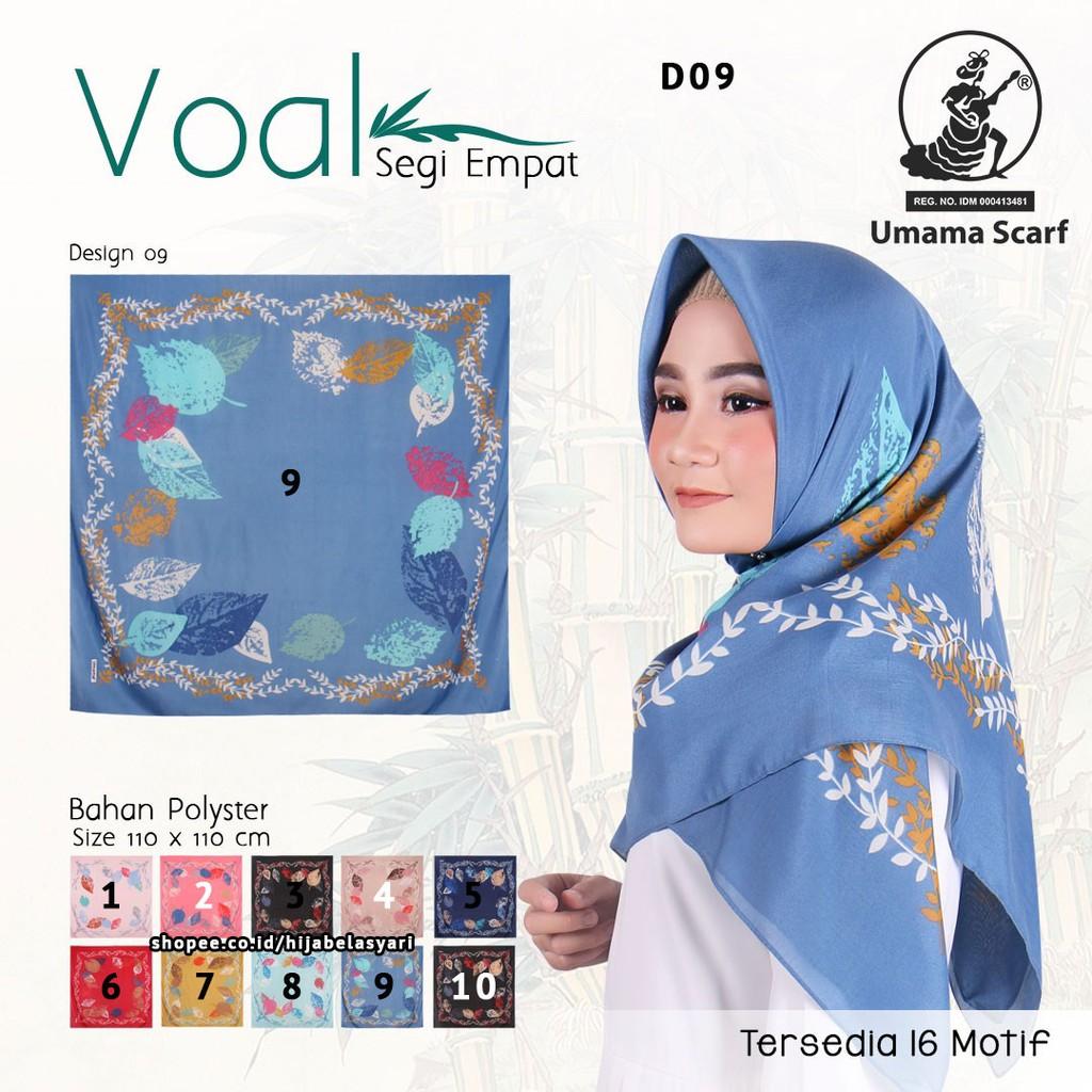 Hijab Segiempat Umama Motif Coklat Daftar Harga Terkini Dan Eclemix Jilbab Cornskin 1 Scarf Square Segi Empat Cokelat Muda Voal D9 Bunga Kerudung Tanah Abang Shopee