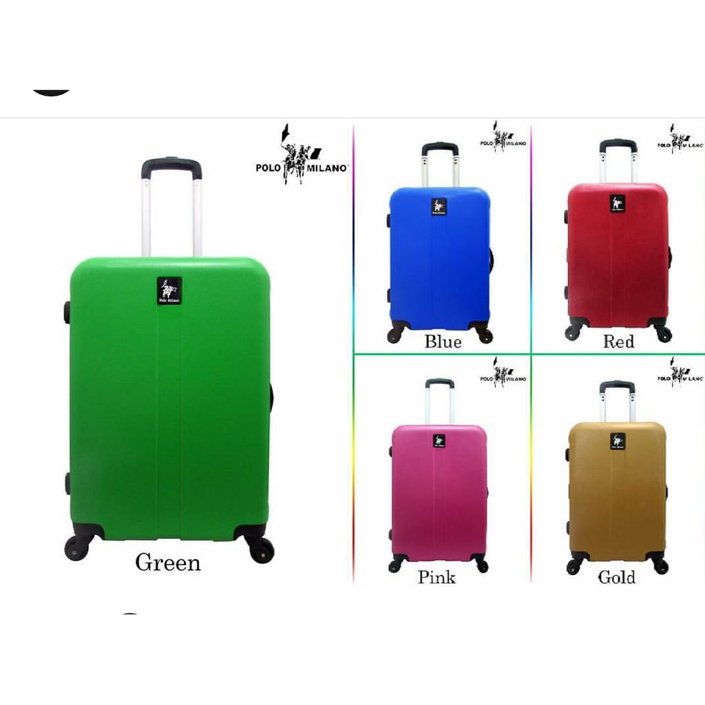 Harga Jual Tas Koper Polo Hoby Fiber Abs Bagasi Size 24 Inch 707 Red 1 Set 20 Ampamp Grey Milano Hard Case 28117 2 2024 Daftar