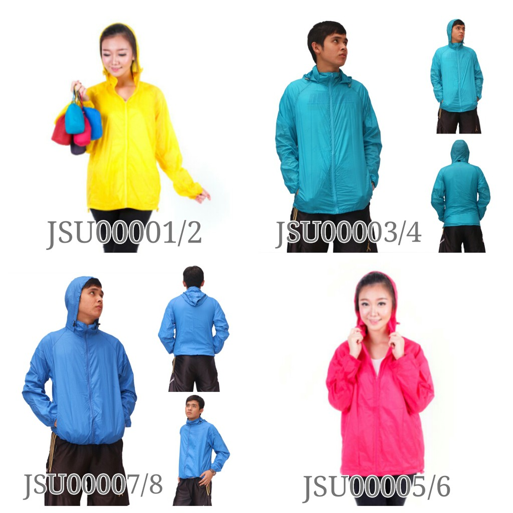 Jaket Running Sporty Shopee Indonesia Parasut Import Nike Park 2017