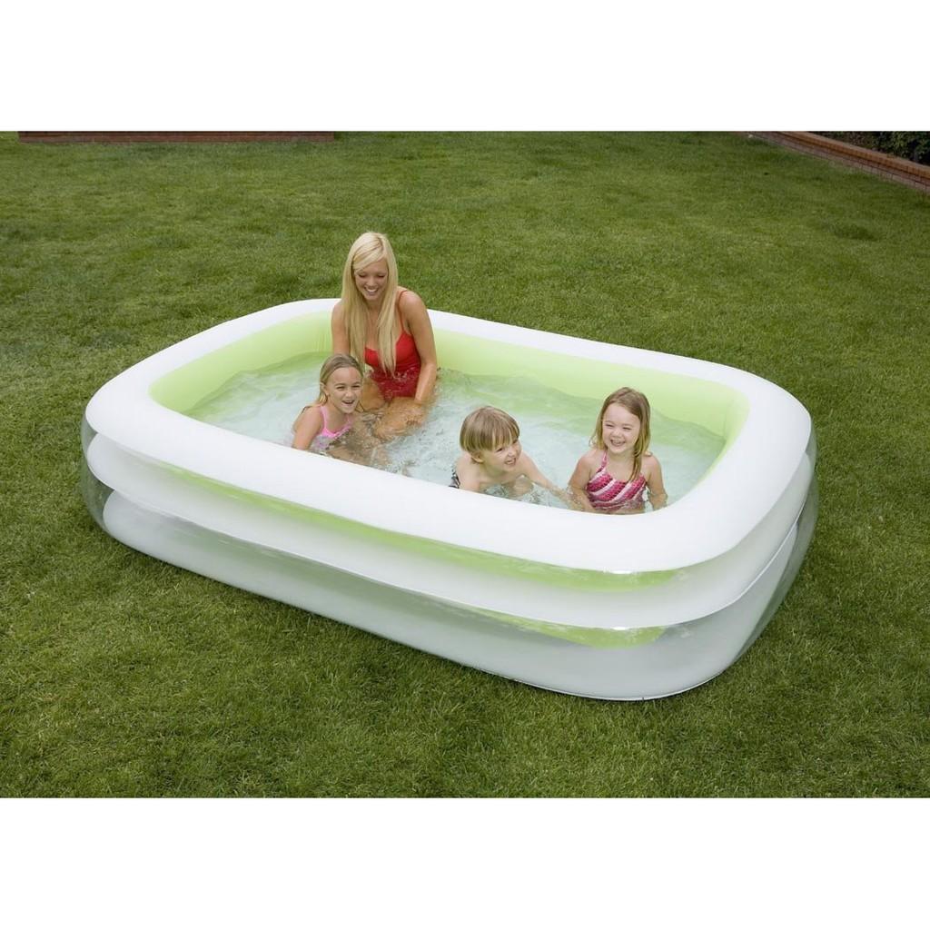 Kolam Renang Keluarga Swim Center Family Pool Intex 56483 See Through Round 57489 Blue Anak Mandarin Orange 57181 Shopee Indonesia