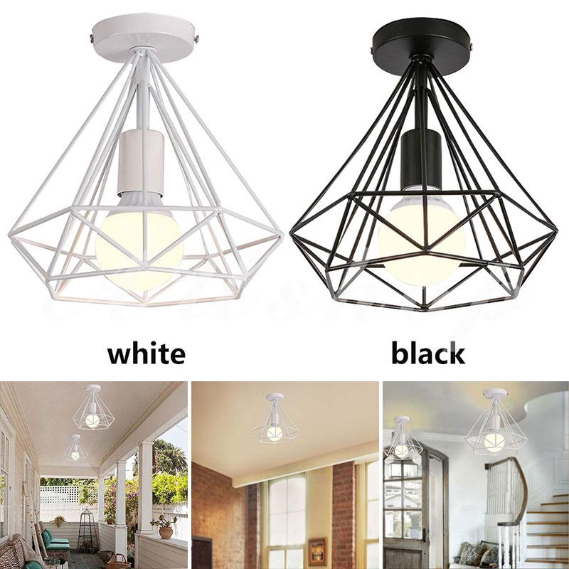 Aushoponline Romantic Recessed Ceiling Lights E27 Hanging Lamp Fashion Living Room Scandinavian Shopee Indonesia