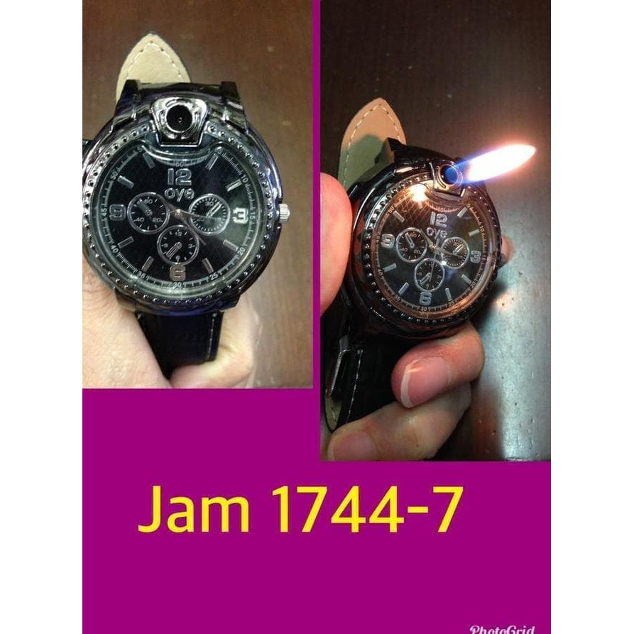 Premium Korek Api Gas Model Jam Tangan Type Jam 1744-7 - Korek Api Unik Murah | Shopee Indonesia