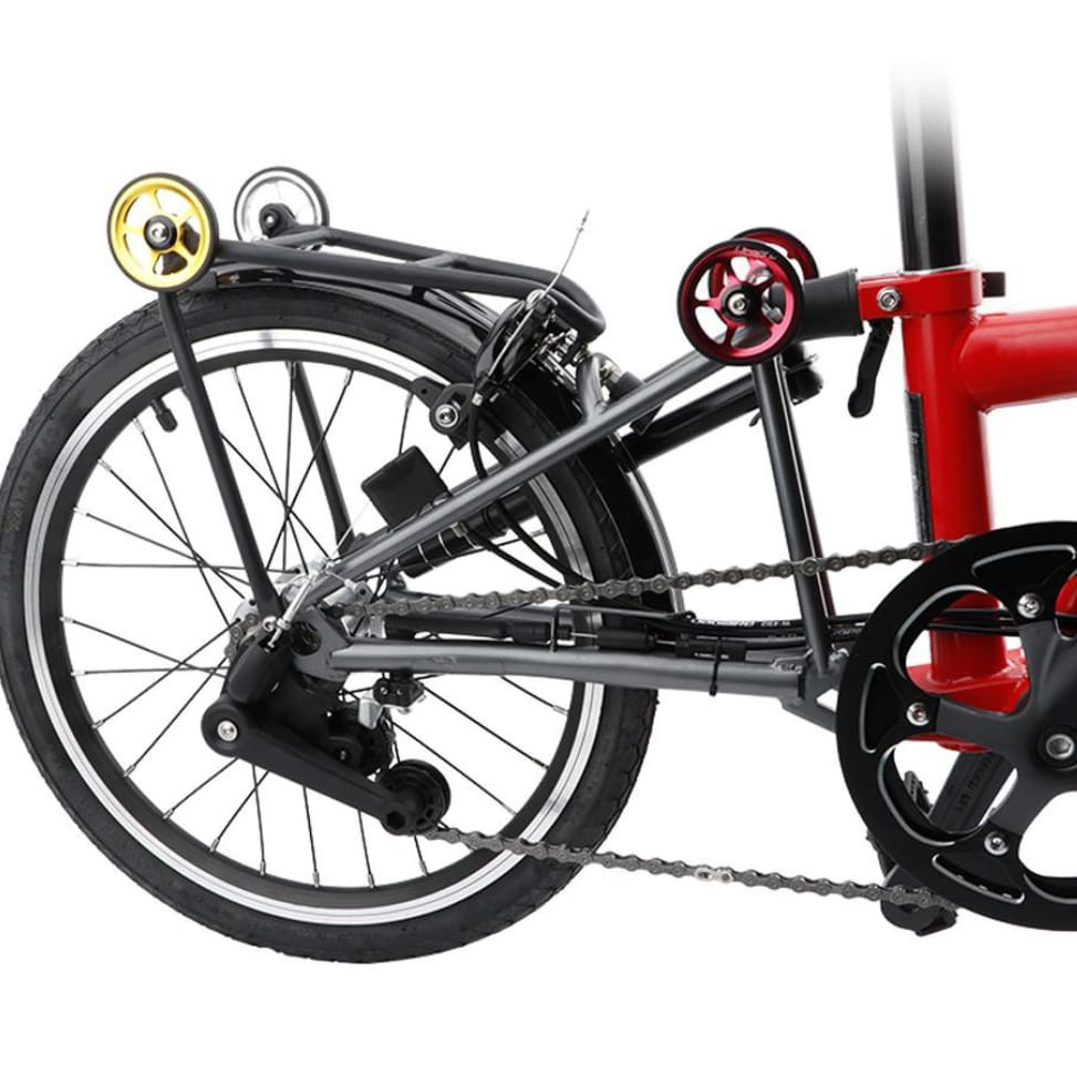 Premium Easy Wheel Folding Bike Brompton 3sixty Element Pikes Trifold Sepeda Lipat New Shopee Indonesia