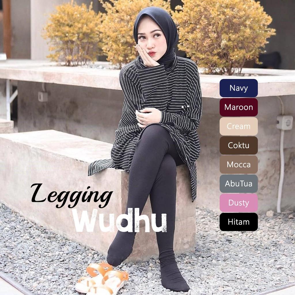 Fashion Muslim Bawahan Muslim Wanita Legging Wudhu Wanita Termurah Best Seller Shopee Indonesia