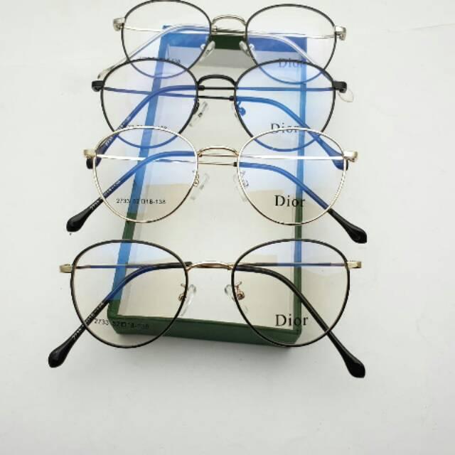 Frame Kacamata Minus Pria | Kacamata Bulat| Kacamata Minus