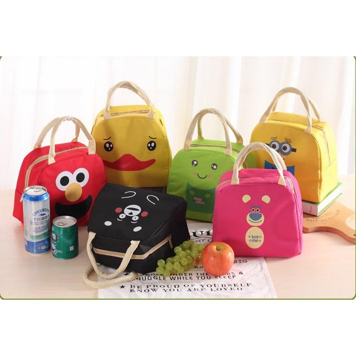 tas piknik Korea outdoor lunch bag insulation cold heat boxes bta124   Shopee Indonesia