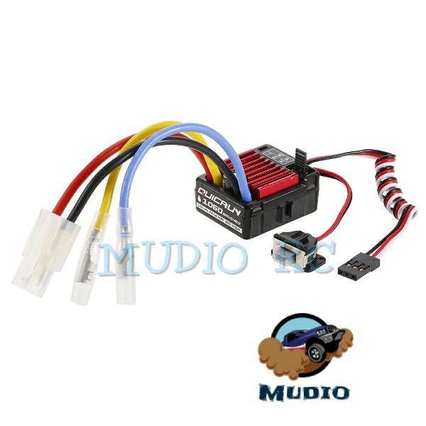 Hobbywing Quicrun WP 1060 WATERPROOF ESC 60A Brushed wp1060 Rc adventure  rock crawler offroad buggy