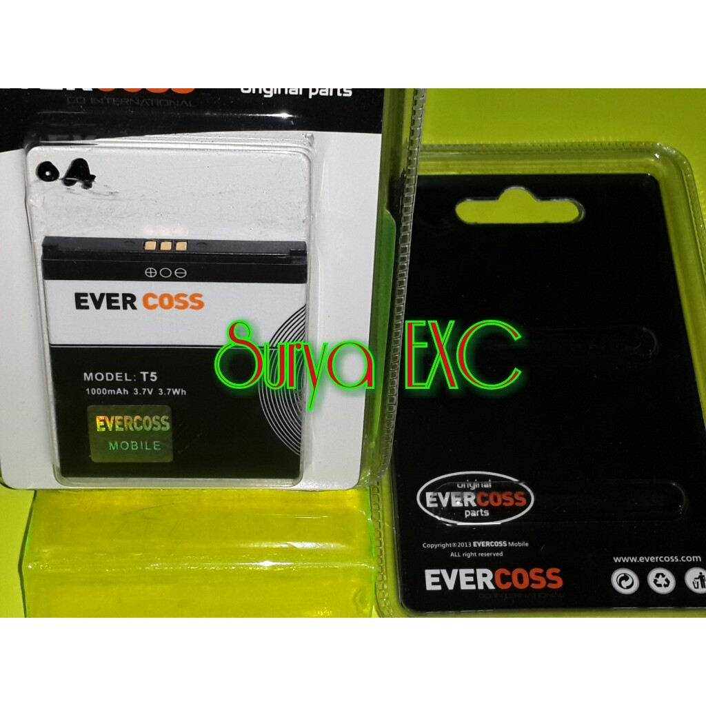 Baterai Battery Evercoss A7E Original