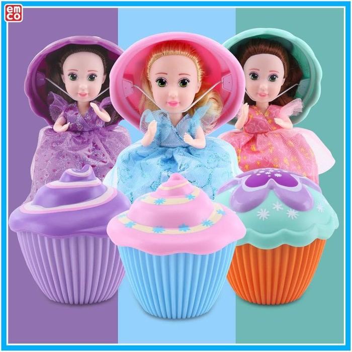Jual Cupcake Surprise Princess Doll EMCO Original Termurah  9e8e47ecbb