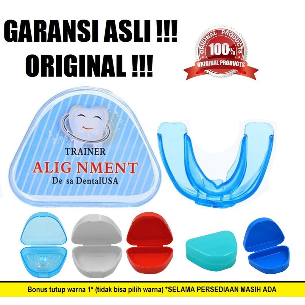 Perapih Gigi Original Alat Perapi Tanpa Behel Pelurus Paket Permanen Orthodontics Teeth Trainer Alignment Shopee Indonesia