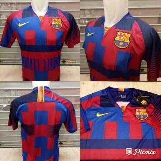 e08fc508f Jersey Bola Barcelona Barca Nike Anniversary 20th Official Grade ORI