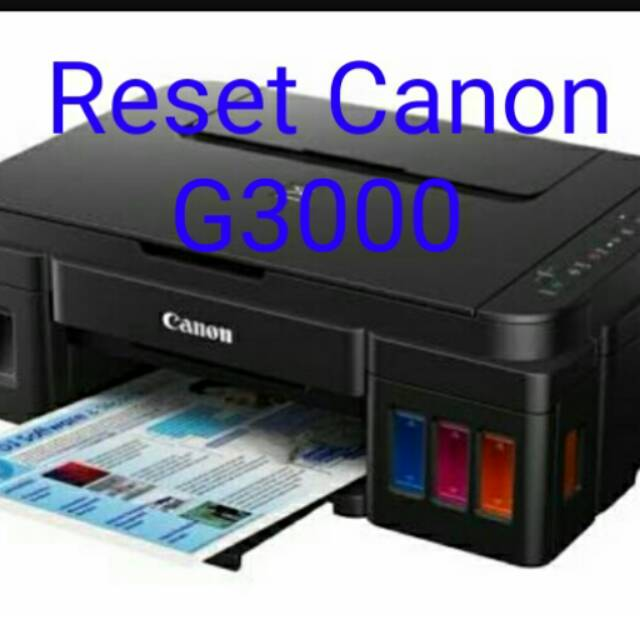 Reset Canon G3000 Unlimited One PC