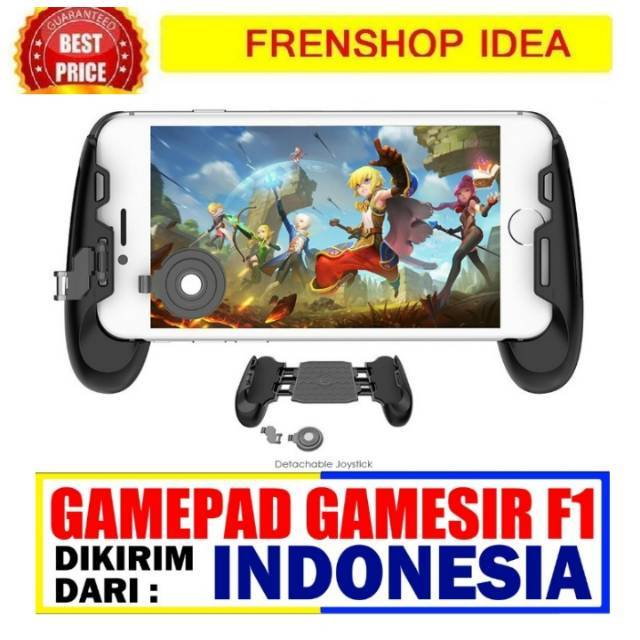 Gamepad Gamesir F1 Original joystick game with Adjustable Swing Arm MOBA AOV | Shopee Indonesia