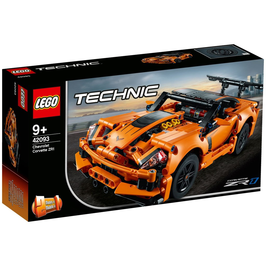 Lego 42093 Technic Chevrolet Corvette Zr1 Shopee Indonesia