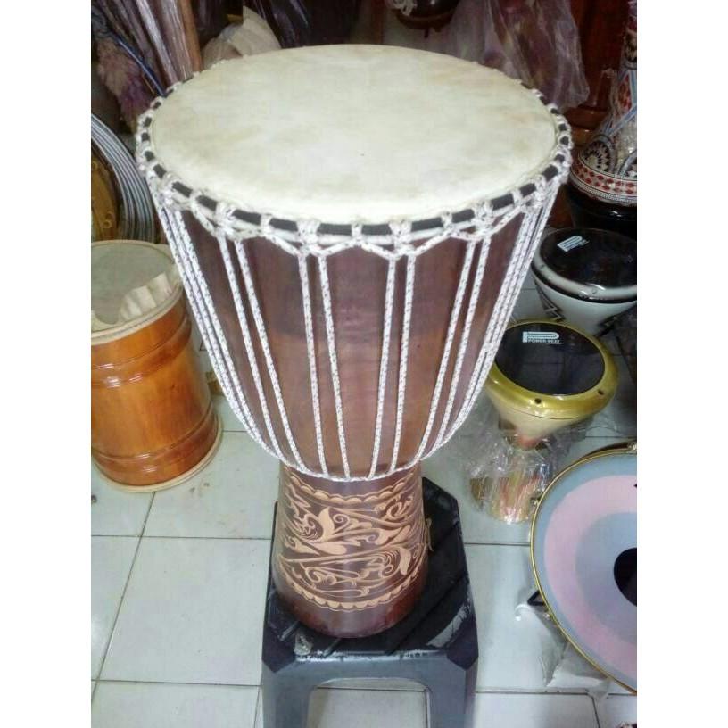 Alat Musik Tradisional Jimbe T25 Alat Musik Pajangan Dekorasi
