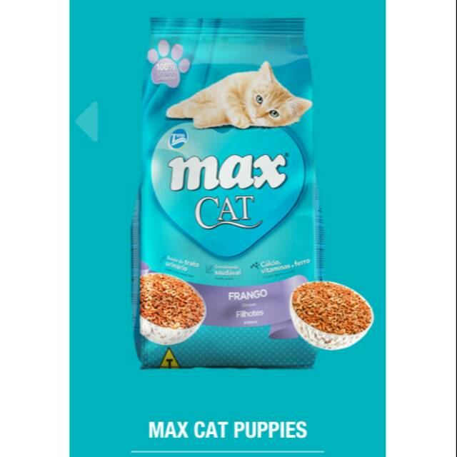 Makanan Kucing Max Kitten Repack 1kg Shopee Indonesia