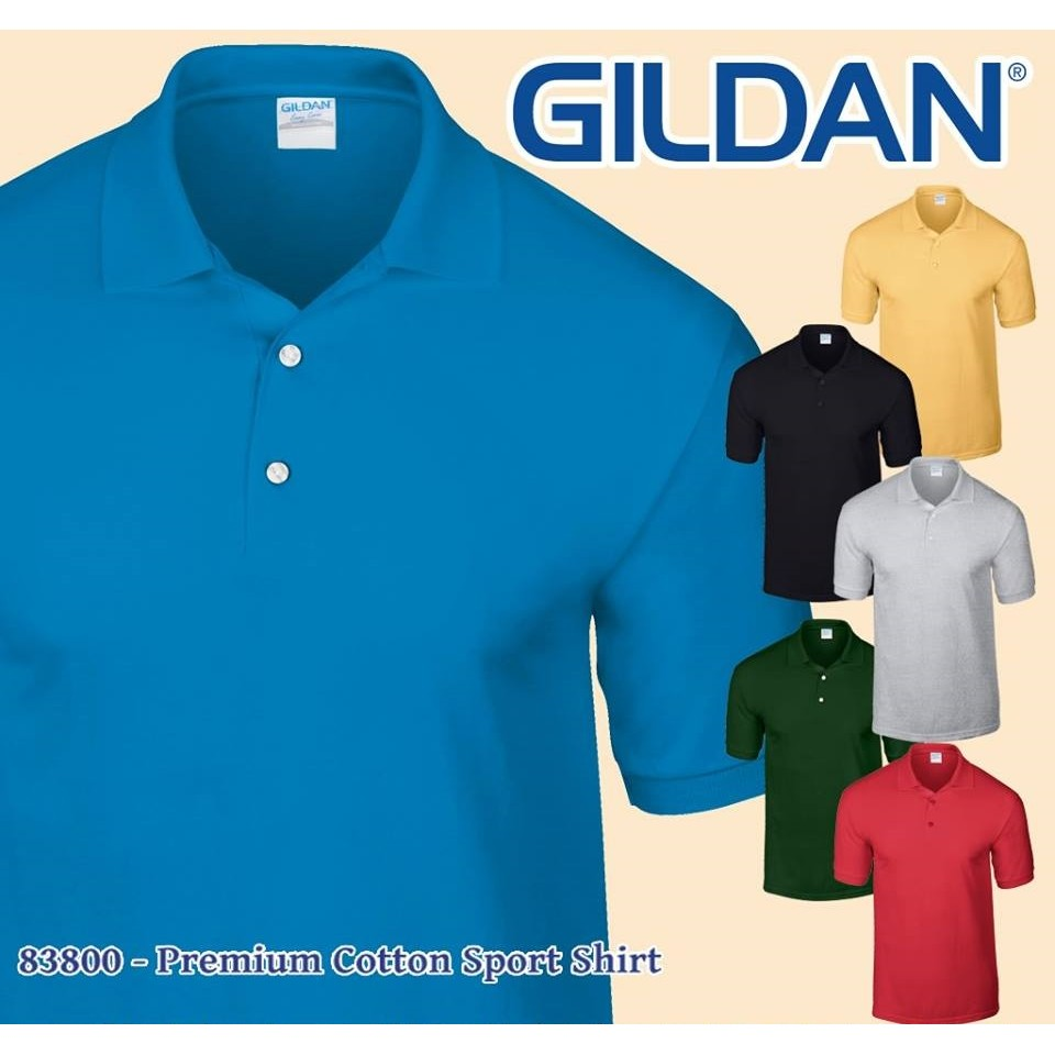 Kaos Polos Gildan Premium Cotton 76000 Reguler Size Shopee Indonesia Baju Lengan Panjang Longsleeve Combed Ketebalan Seperti Lebih Bagus Dari Softstyle