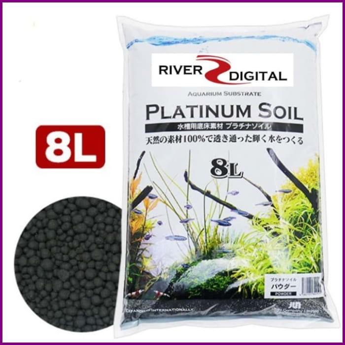 Platnum Soil Black Powder 8l Aquascape Japanese Substrate Shopee Indonesia