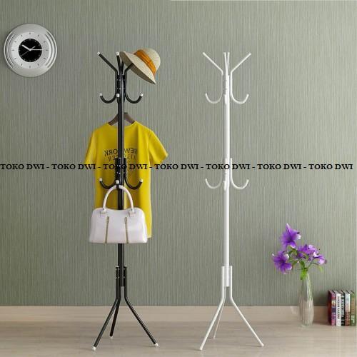 PROMO Stand Hanger / Standing Hanger / Gantungan Multifungsi TERLARIS | Shopee Indonesia