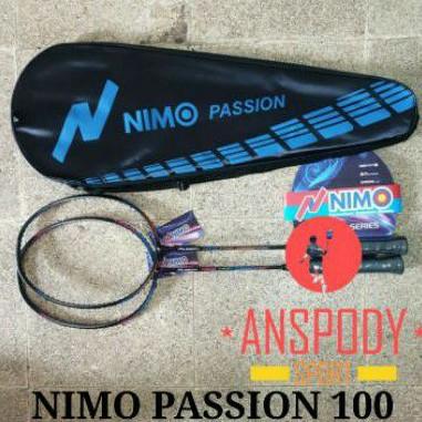 RAKET BADMINTON NIMO PASSION 100